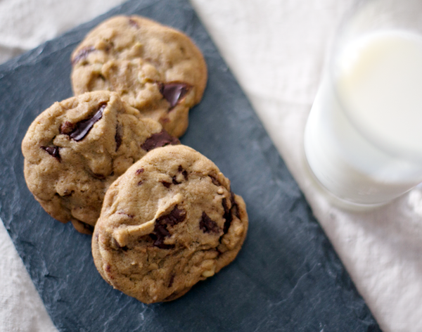 TCHO Chocolate Chip Cookies