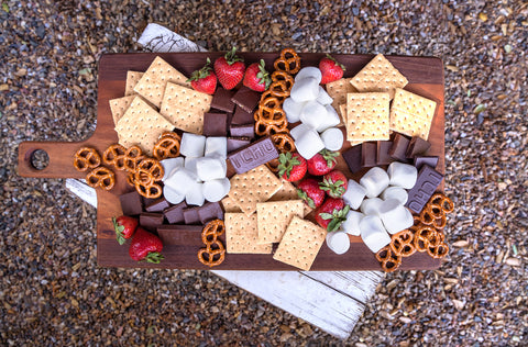 TCHO Chocolate S'mores Board