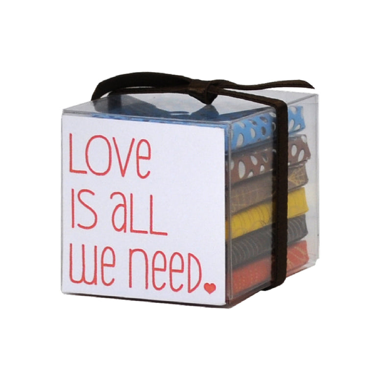Love is All We Need 6x8g Chocolate Sampler Cube