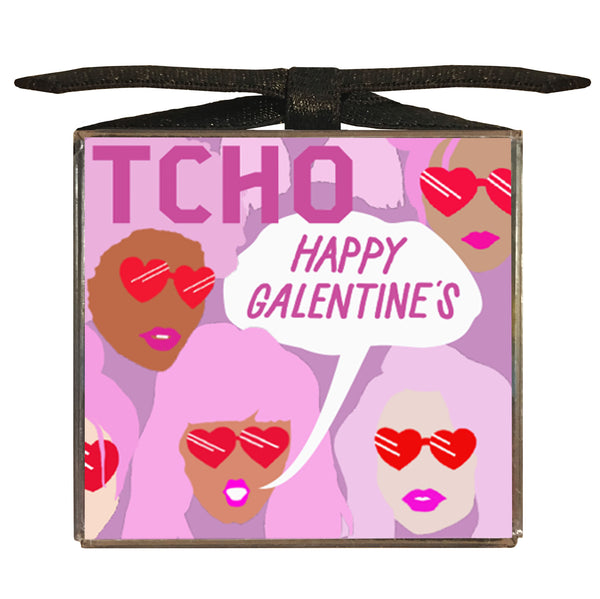 Galentine's Day 6x8g Chocolate Sampler Cube