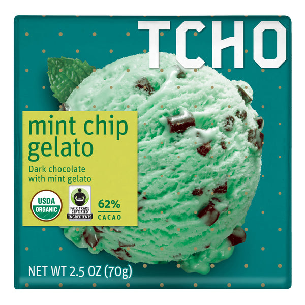Mint Chip Gelato 70g Bar