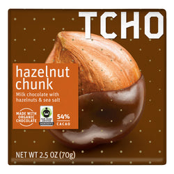 "Milk Chocolate ""Hazelnut Chunk"" 70g Bar"