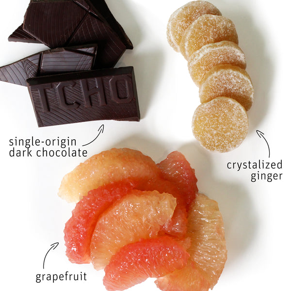 Maker's Series: Grapefruit + Ginger 70g Bar