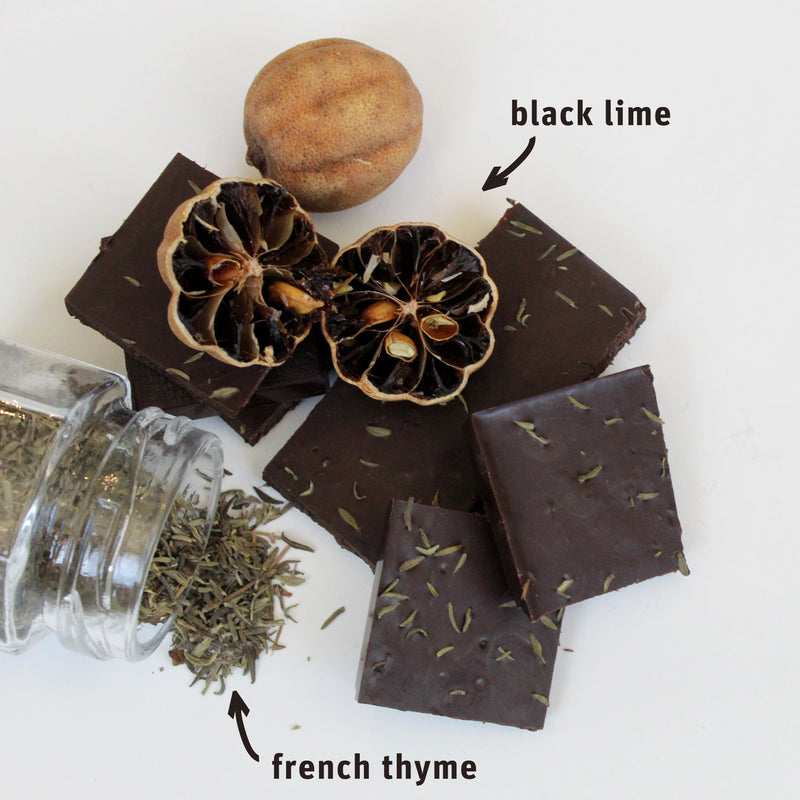 Maker's Series: Black Lime + French Thyme 70g Bar