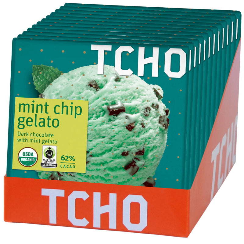 Mint Chip Gelato 12x70g POP