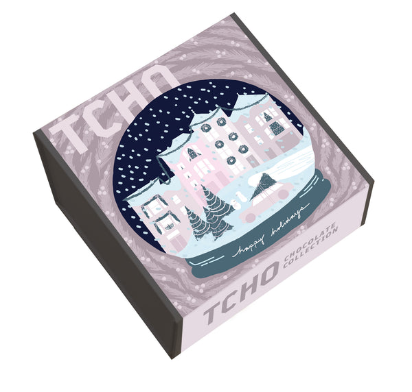 COMING SOON Snow Globe 36x8g Chocolate Gift Box (AVAILABLE 11/19)