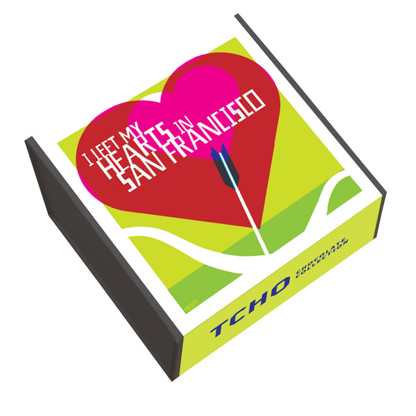 "SF Souvenir ""Heart"" 36x8g Chocolate Gift Box"
