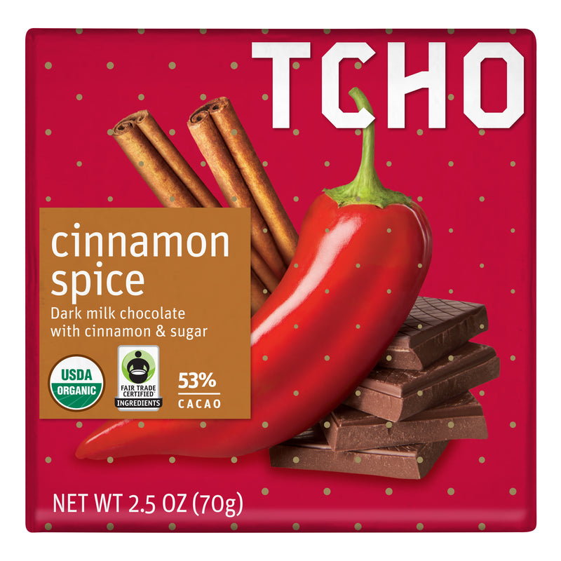 "Milk Chocolate ""Cinnamon Spice"" 70g Bar"