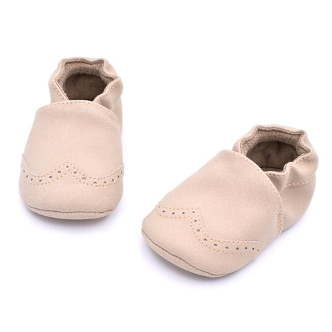 New Matte Leather Baby Shoes Soft Bottom Prewalker - KISISA BABY SHOES