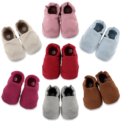 First Walkers Suede Baby Moccasins