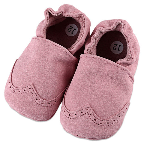 First Walkers Suede Baby Moccasins - KISISA BABY SHOES
