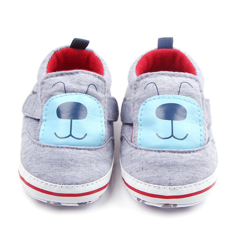 Comfortable Cute Dog Cotton Newborn Infant Baby Shoes