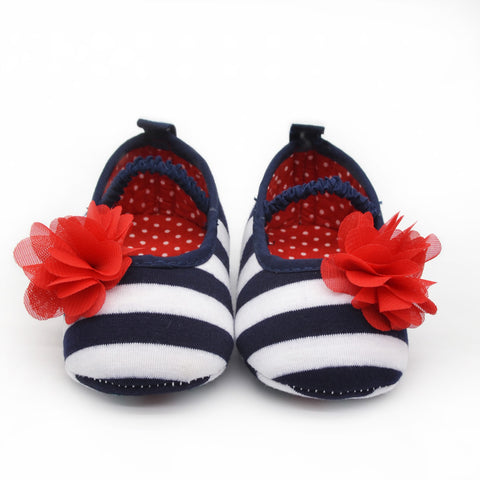 Cute Soft Shoes Flower Baby Girl Shoes - KISISA BABY SHOES