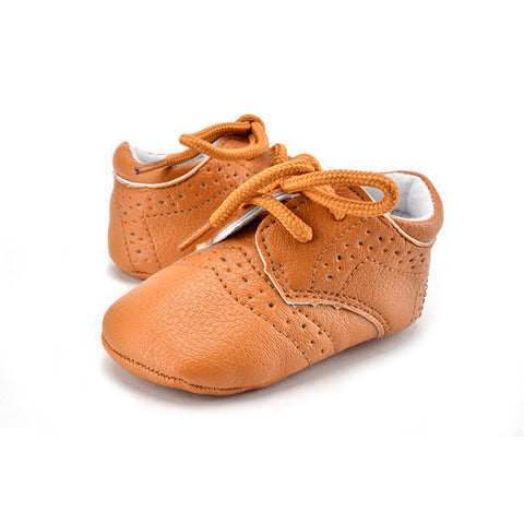 Cute Boys & Girls Shoes PU Light Leather