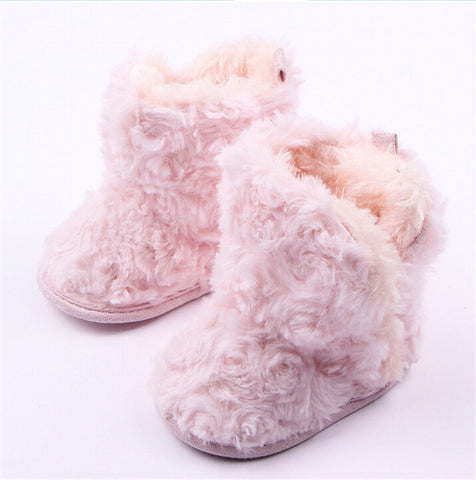 Warm Thick Baby Soft Sole Boots
