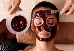 caffeine mask coffee nutrient vitamin perk up skin with face mask