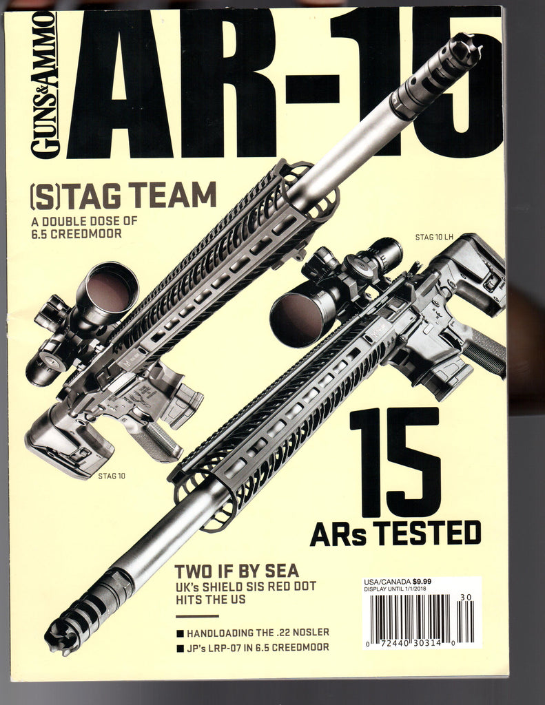 Guns & Ammo AR-15 Article & Review of Tier5™ MBC™ (2017 Issue No. 5)