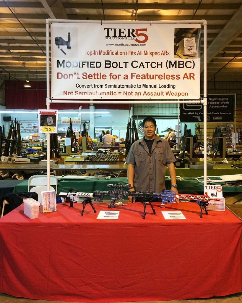 Tier5™ Booth at the Middletown, New York Gun Show