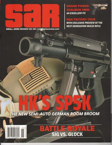 Small Arms Review Magazine Article