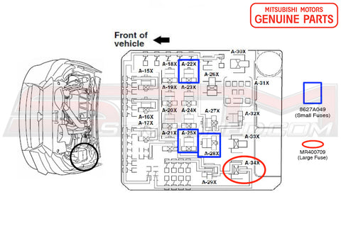 evo x fuse box wiring diagram completed Truck Fuse Box