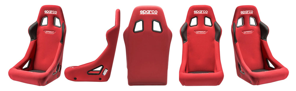 Sparco Seat Competition Series Sprint Red Cloth (008235RS)