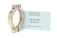 001987 MVSCLO TiAL Sport MVS VBand Outlet Clamp