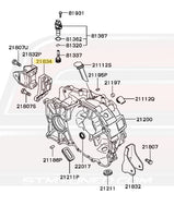 Mitsubishi Evo 8 5-Speed Transmission Diagram