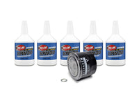 10W30 Redline Engine Oil with MZ690116 Mitsubishi Filter and Drain Plug Gasket