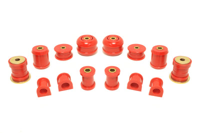 Prothane Total Suspension Bushing Kit Red for Evo 7/8/9 (13-2003)