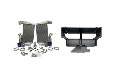 HKS Intercooler Kit Type R with Shroud for R35 GTR (13001-AN013)