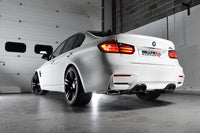 Cat-Back Exhaust with Cerkote Black Tips: BMW M3 F80/M4 F82 - Milltek