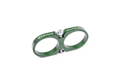 Radium Fuel Filter Mounting Clamp (Dual Clamp 60mm) (20-0122)