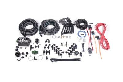 20-0366-00 Radium Port Injection / FST Install Kit for Focus RS with Black Regulator