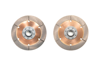 Quarter Master Replacement 6-Leg Twin Clutch Discs for DSM/Evo