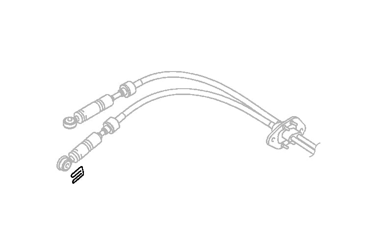 2460A042 OEM Evo 9 MR 6-Speed Shifter Cable Link Clip