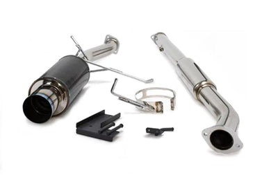 HKS Carbon-Ti Cat Back Exhaust for Evo 7/8/9 (31012-BM001)