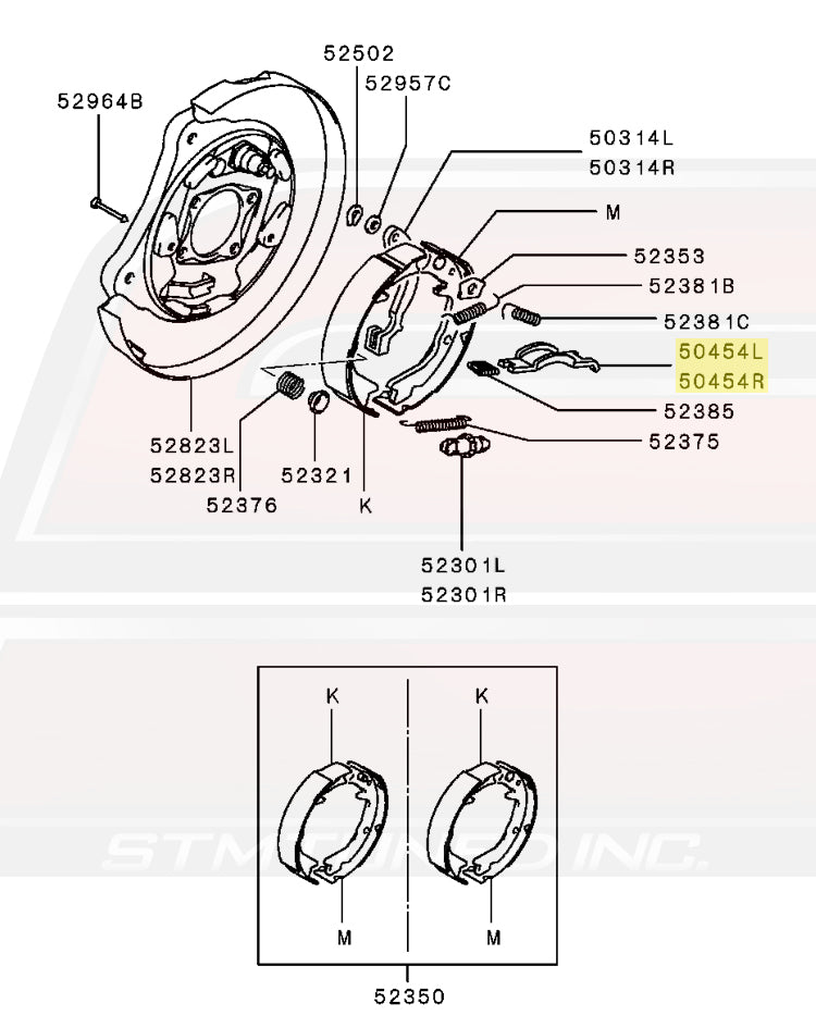 Parking Brake Diagram