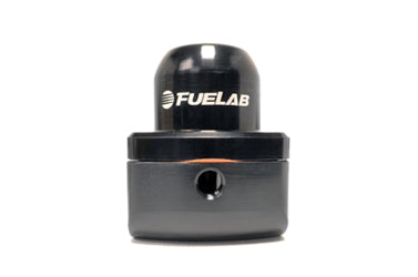 Black FUELAB -10AN Fuel Pressure Regulator (51501)