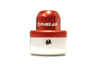 Red FUELAB -10AN Fuel Pressure Regulator (51501)