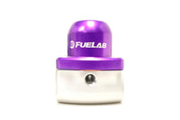 Purple FUELAB -10AN Fuel Pressure Regulator (51501)