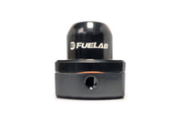 Black FUELAB Mini Fuel Pressure Regulator (53501-1)