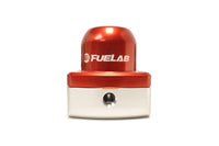 Red FUELAB Mini Fuel Pressure Regulator (53501-2)