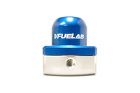 Blue FUELAB Mini Fuel Pressure Regulator (53503)