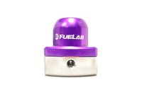 Purple FUELAB Mini Fuel Pressure Regulator (53501-4)