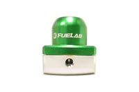 Green FUELAB Mini Fuel Pressure Regulator (53501-6)