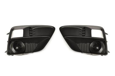 Subaru OEM Fog Light Covers (without Hole) - 15-17 WRX