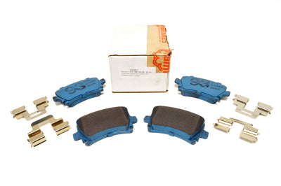 TBM The Brake Man Pads Rear VW R32 (6-110893)