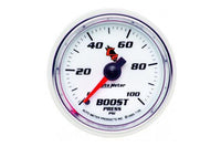 "Boost: 0-100 PSI - C2 Mechanical Gauge (2 1/16"")"