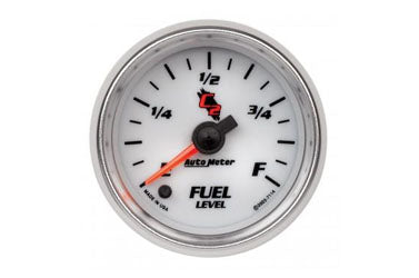 "Fuel Level: 0-280 Ω - C2 Stepper Motor Gauge (2 1/16"")"
