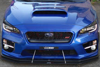 APR Carbon Fiber Front Wind Splitter with Rods for 2015 to 2017 Subaru STi